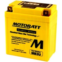 Motobatt Motorcycle Battery MB3U
