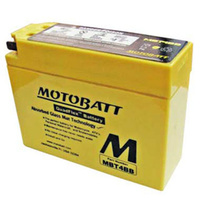 Motobatt Motorcycle Battery MBT4BB