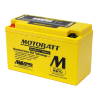 Motobatt Motorcycle Battery MB7U