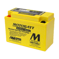 Motobatt Motorcycle Battery MBT9B4
