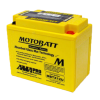 Motobatt Motorcycle Battery MBTX12U